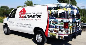 Ford van wrap from Appleton, Wisconsin