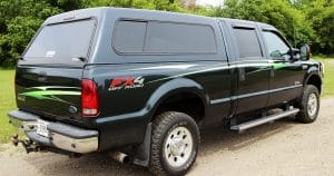 Ford F250 pick-up truck graphics from Sparta, Wisconsin
