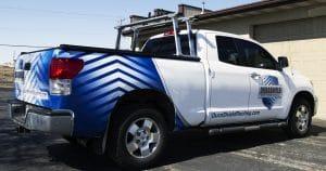 Toyota Tundra truck wrap from Appleton, Wisconsin