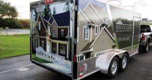 Cargo trailer wrap from Appleton, Wisconsin