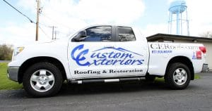 Toyota Tundra truck lettering & graphics from Appleton, Wisconsin