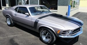 Ford Mustang Boss 302 oem stripes from Lomira, Wisconsin