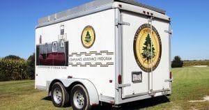 Cargo trailer lettering & graphics for Oneida Environmental Oneida, Wisconsin